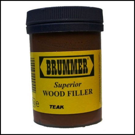 Brummer Wood Filler Int Teak 250Gr