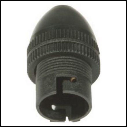 Elec Mts Lampholder 1mm Black